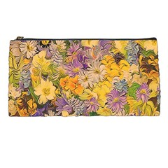 Spring Flowers Effect Pencil Case