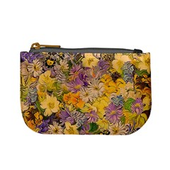 Spring Flowers Effect Coin Change Purse