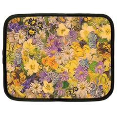 Spring Flowers Effect Netbook Sleeve (XL)