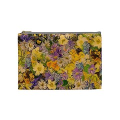 Spring Flowers Effect Cosmetic Bag (Medium)