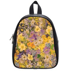 Spring Flowers Effect School Bag (Small)