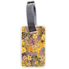 Spring Flowers Effect Luggage Tag (one Side)