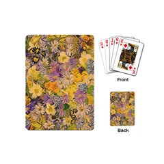 Spring Flowers Effect Playing Cards (Mini)