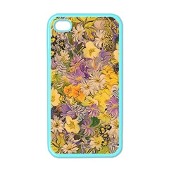 Spring Flowers Effect Apple iPhone 4 Case (Color)