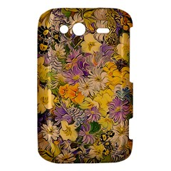 Spring Flowers Effect HTC Wildfire S A510e Hardshell Case