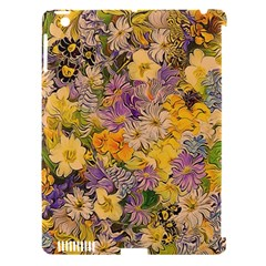 Spring Flowers Effect Apple iPad 3/4 Hardshell Case (Compatible with Smart Cover)