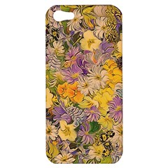 Spring Flowers Effect Apple iPhone 5 Hardshell Case