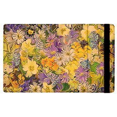 Spring Flowers Effect Apple Ipad 2 Flip Case