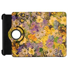 Spring Flowers Effect Kindle Fire Hd 7  (1st Gen) Flip 360 Case