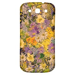Spring Flowers Effect Samsung Galaxy S3 S III Classic Hardshell Back Case