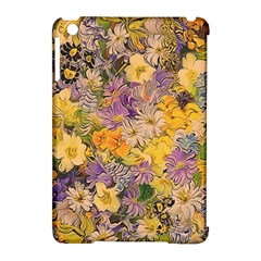 Spring Flowers Effect Apple Ipad Mini Hardshell Case (compatible With Smart Cover)