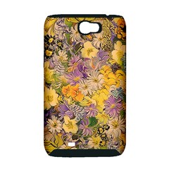 Spring Flowers Effect Samsung Galaxy Note 2 Hardshell Case (PC+Silicone)
