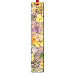 Spring Flowers Effect Large Bookmark