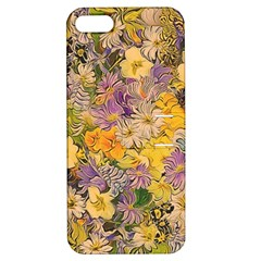 Spring Flowers Effect Apple iPhone 5 Hardshell Case with Stand