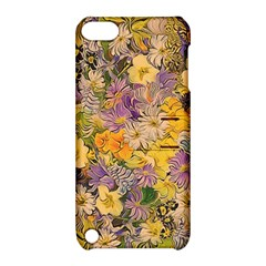 Spring Flowers Effect Apple Ipod Touch 5 Hardshell Case With Stand