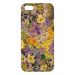 Spring Flowers Effect iPhone 5 Premium Hardshell Case