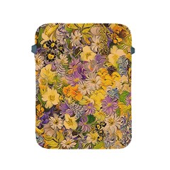 Spring Flowers Effect Apple Ipad Protective Sleeve