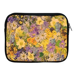 Spring Flowers Effect Apple Ipad Zippered Sleeve