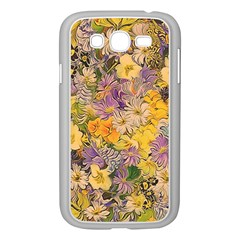 Spring Flowers Effect Samsung Galaxy Grand Duos I9082 Case (white)