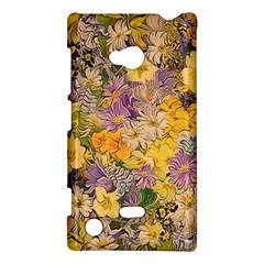 Spring Flowers Effect Nokia Lumia 720 Hardshell Case