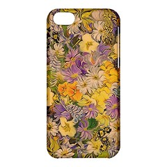 Spring Flowers Effect Apple iPhone 5C Hardshell Case