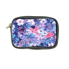 Spring Flowers Blue Coin Purse