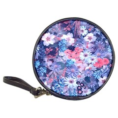 Spring Flowers Blue Cd Wallet