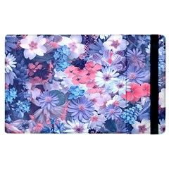 Spring Flowers Blue Apple Ipad 2 Flip Case