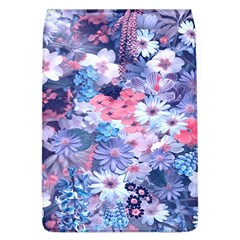 Spring Flowers Blue Removable Flap Cover (Large)