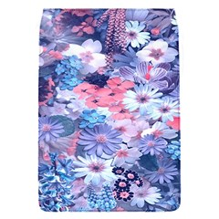Spring Flowers Blue Removable Flap Cover (Small)