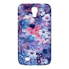 Spring Flowers Blue Samsung Galaxy Mega 6 3  I9200