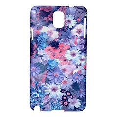 Spring Flowers Blue Samsung Galaxy Note 3 N9005 Hardshell Case