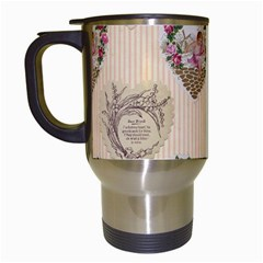 Vintage Valentine Travel Mug (White)