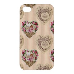 Vintage Valentine Apple iPhone 4/4S Hardshell Case