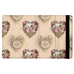 Vintage Valentine Apple iPad 2 Flip Case