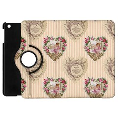 Vintage Valentine Apple iPad Mini Flip 360 Case