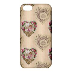 Vintage Valentine Apple iPhone 5C Hardshell Case
