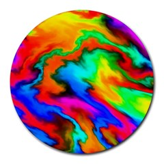 Crazy Effects  8  Mouse Pad (Round)