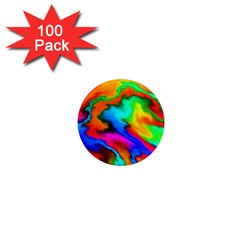 Crazy Effects  1  Mini Button Magnet (100 Pack)