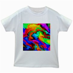 Crazy Effects  Kids' T Shirt (white)