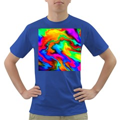Crazy Effects  Mens' T-shirt (Colored)