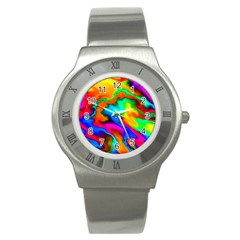 Crazy Effects  Stainless Steel Watch (slim)