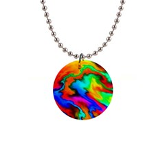 Crazy Effects  Button Necklace