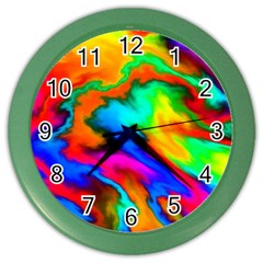 Crazy Effects  Wall Clock (color)