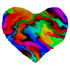 Crazy Effects  19  Premium Heart Shape Cushion