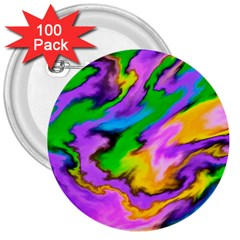 Crazy Effects  3  Button (100 pack)
