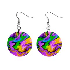 Crazy Effects  Mini Button Earrings