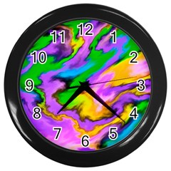 Crazy Effects  Wall Clock (Black)