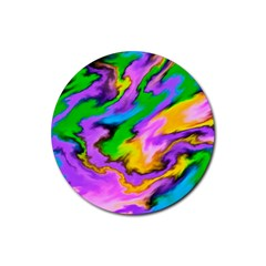 Crazy Effects  Drink Coaster (Round)