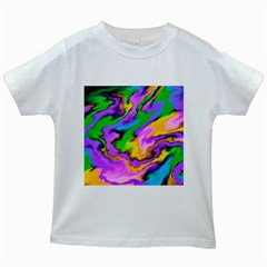 Crazy Effects  Kids' T-shirt (White)